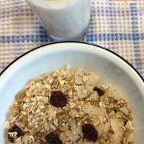 Almond Butter-Oatmeal Breakfast Blend