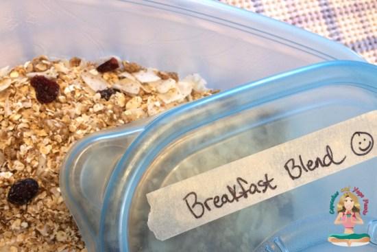 Almond Butter-Oatmeal Breakfast Blend