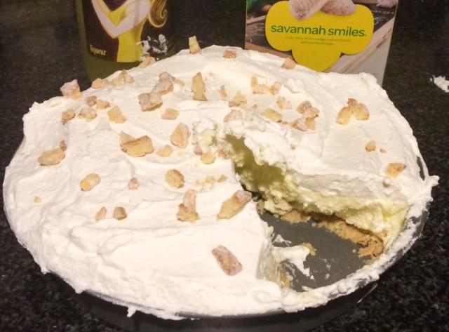 Limoncello Lemon Chiffon Pie