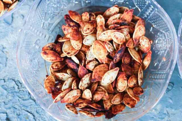 Smoked Paprika Pumpkin Seeds