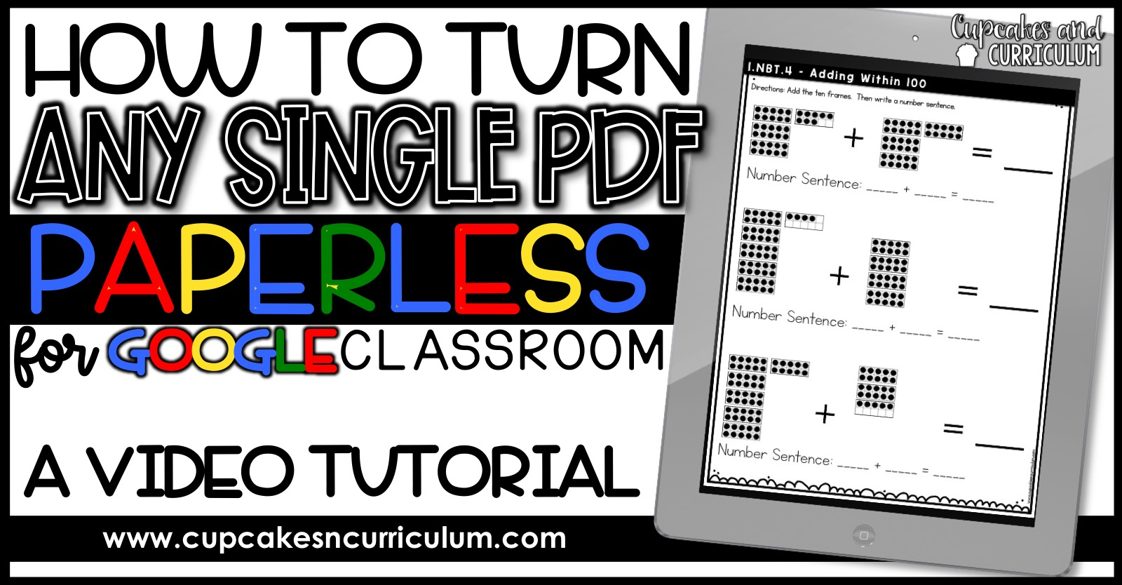 How Teachers Turn Any Worksheet Paperless For Classroom