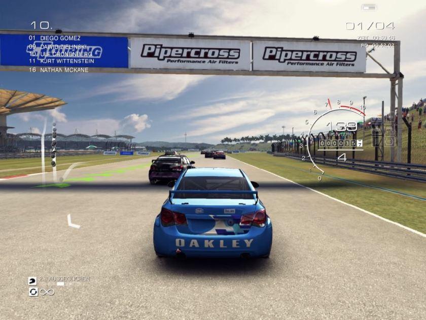 Grid Autosport für iOS: Touring-Rennen
