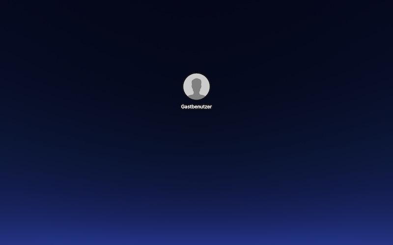 Login-Fenster-Alternative macOS Mojave
