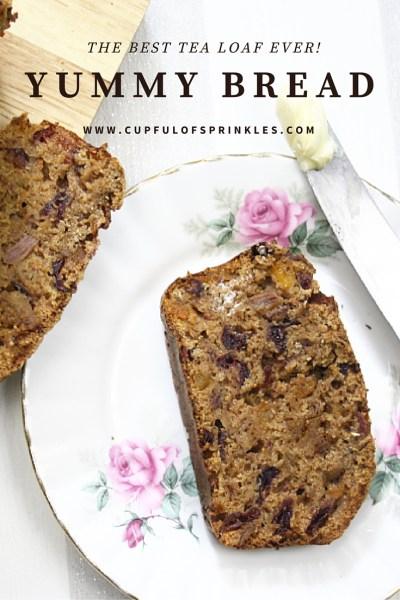 Yummy Bread Recipe - Cupful of Sprinkles