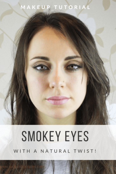 Smudges Smokey Eyes... With A Natural Twist!
