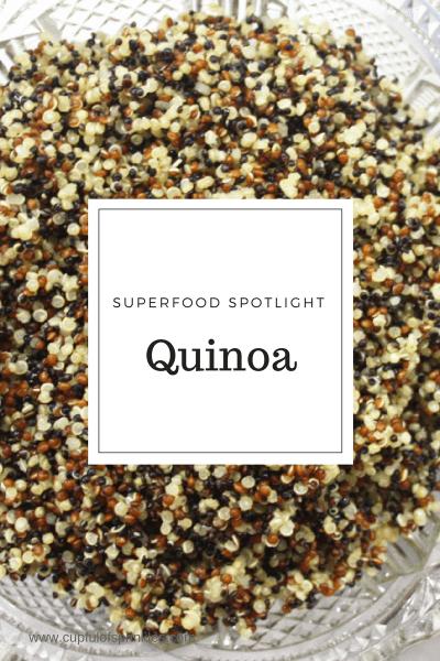 Quinoa - Superfood Spotlight