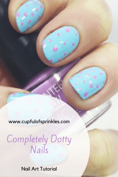 Completely Dotty Nails - Cupful of Sprinkles