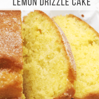 'You Won't Believe It's Gluten Free' Lemon Drizzle Cake