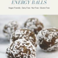 Date Truffle Energy Balls