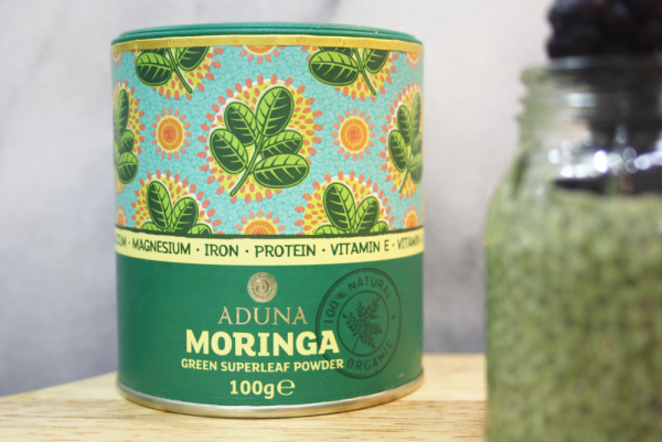 Moringa Chia Pudding ~ Rainbow Chia Series - Cupful Of Sprinkles