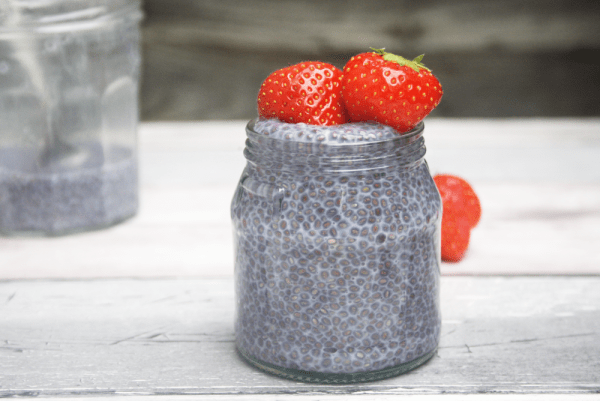 Butterfly Pea Flower Tea & Lemon Chia Pudding Recipe