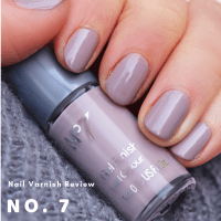No. 7 'Porcini' Gel Finish Nail Varnish Review