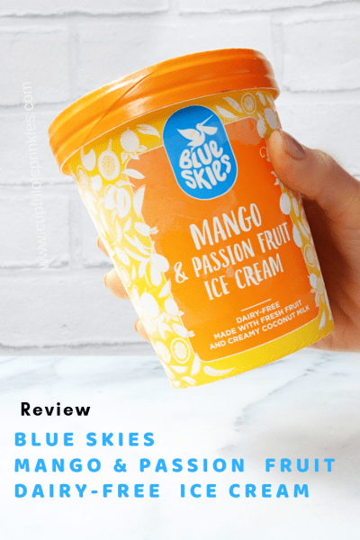 Blue Skies Vegan Ice Cream Review