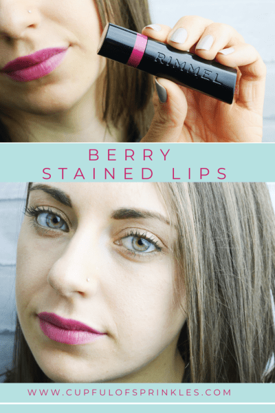 Berry Stained Lips - Cupful of Sprinkles