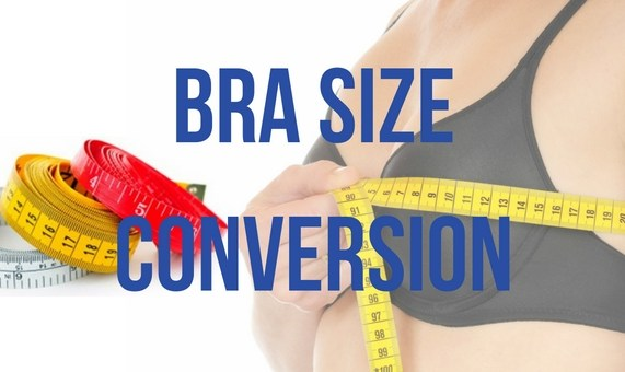 bra size conversion