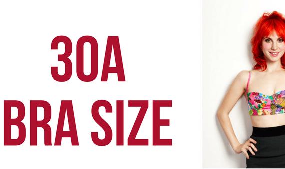 30a bra size