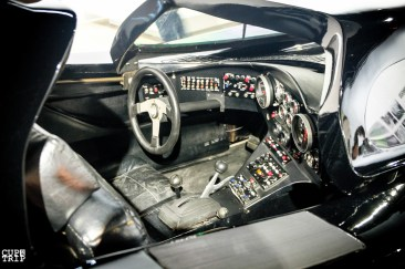 Batman Batmobile interior