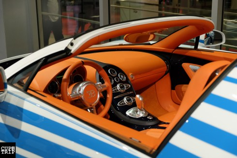Bugatti Veyron with special Interior and body paint