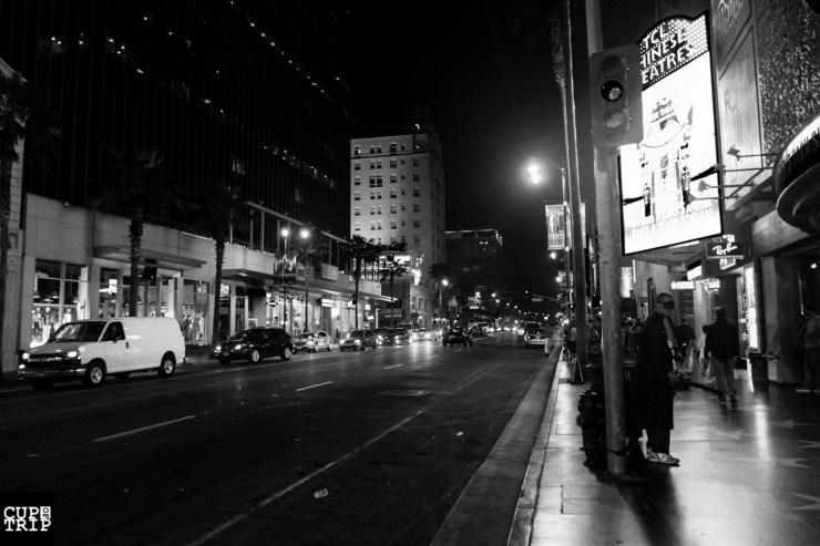 Hollywood Blvd at Los angeles