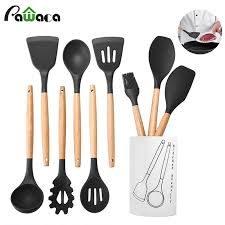 Utensilios de cocina en madera y silicona ERMAKOV desde $9.900🥄