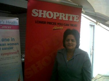 Esmeralda Essex from Shoprite Checkers