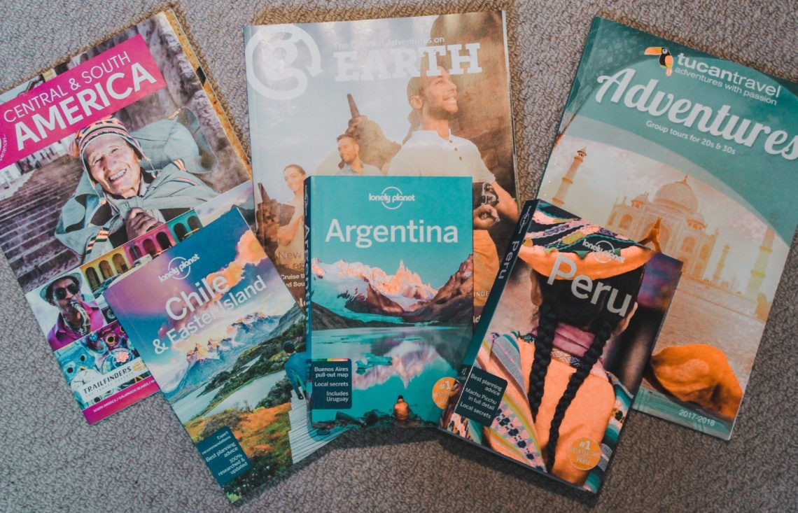 How to plan a trip to South America