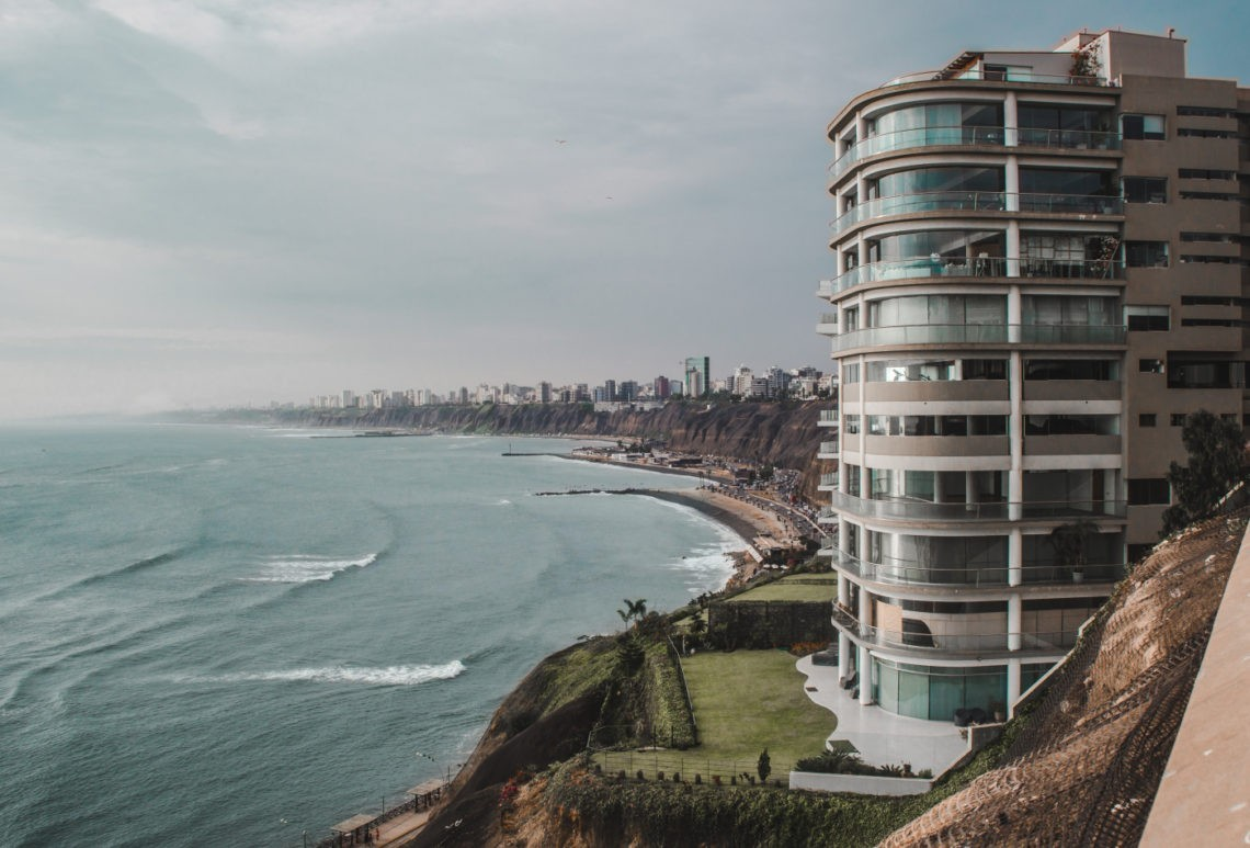 lima miraflores cliffs peru capital peruvian city south america latin | backpacking peru travel tips | things to know before travel in Peru