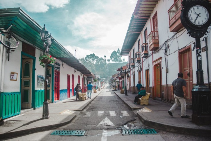 Places to go in Colombia Carrera 6 Salento Colombia | main plaza Salento, Quindio | Travel guide by Cuppa to Copa Travels