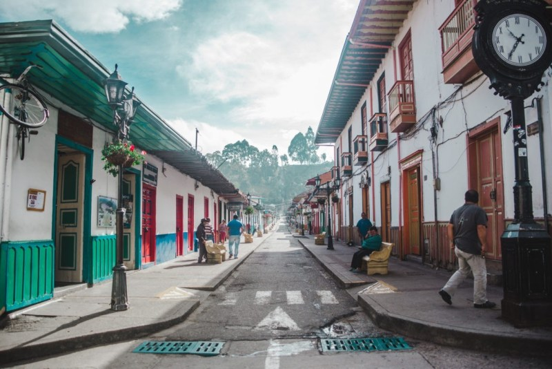 Main street Carrera 6 Salento Colombia | main plaza Salento, Quindio | things to do in Salento