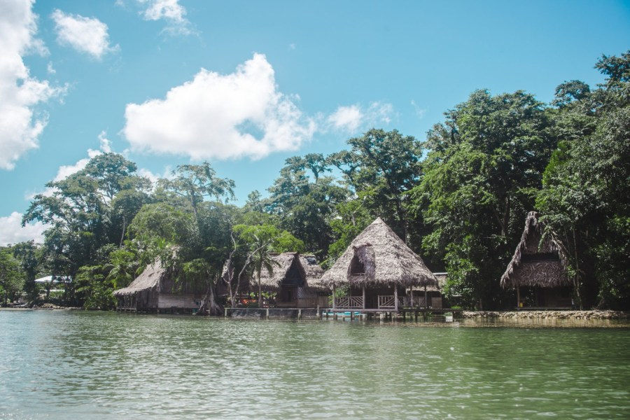 stilted huts on rio dulce: 2 weeks in guatemala itinerary