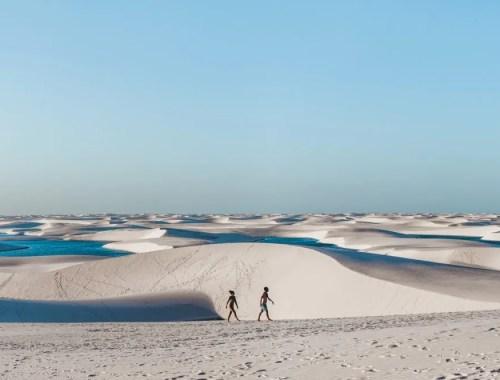 jeep tour in Lencois Maranhenses Maranhao Brazil beach sand dunes
