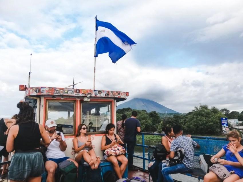 ferry ometepe island nicaragua