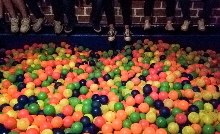 top things to do in Medellin ballpit parque lleras