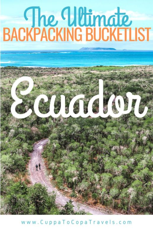Best places to go in Ecuador backpacking galapagos islands bartholomew