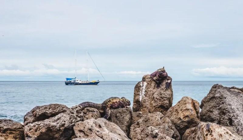 galapagos islands beagle sailboat ecuador backpacking