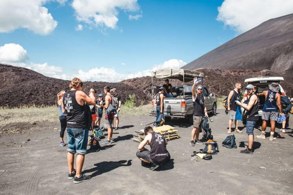 what to do in leon nicaragua volcano boarding cerro negro