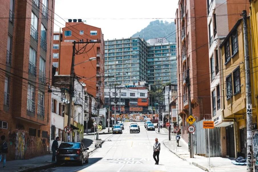 streets of bogota colombia - safe bogota neighbourhoods