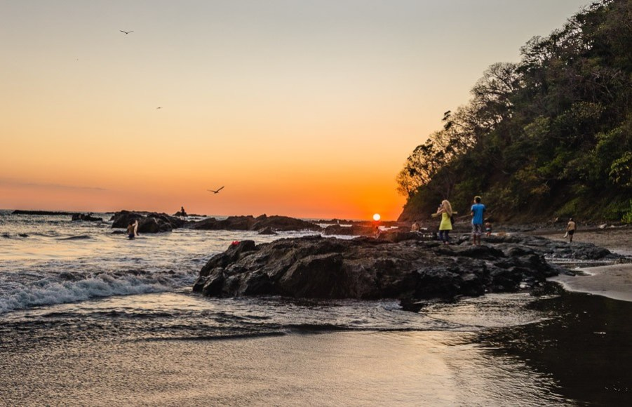 best central american beaches: jaco costa rica