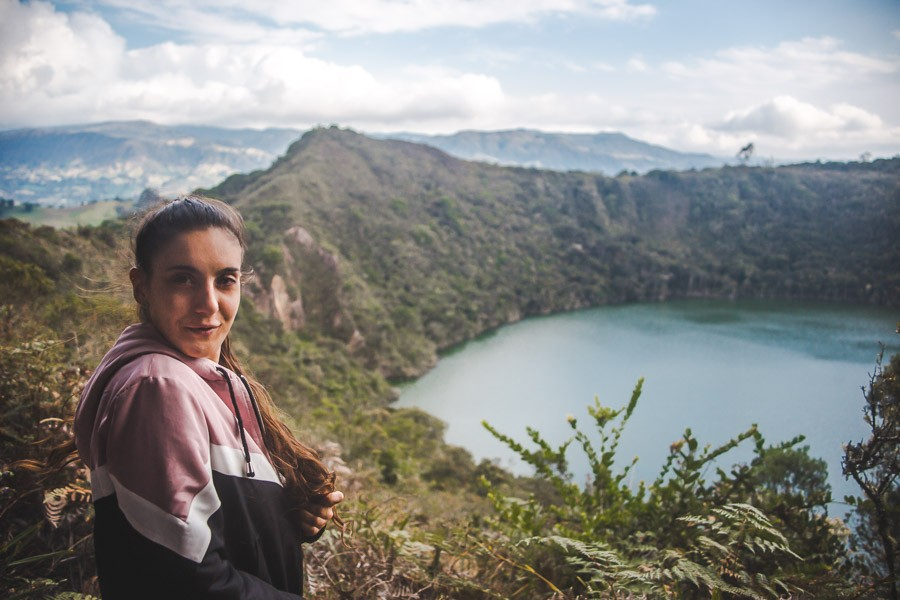 hiking colombia: lake guatavita trail hike