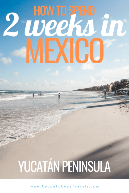 2 week mexico itinerary pin