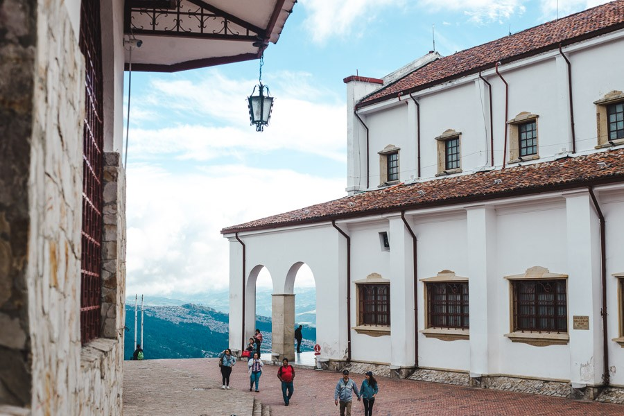 2 weeks in colombia itinerary: bogota monserrate views