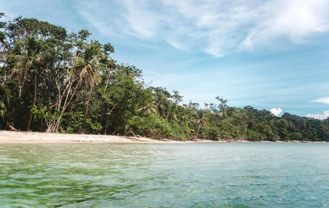 beach at punta cahuita - famous landmarks in costa rica