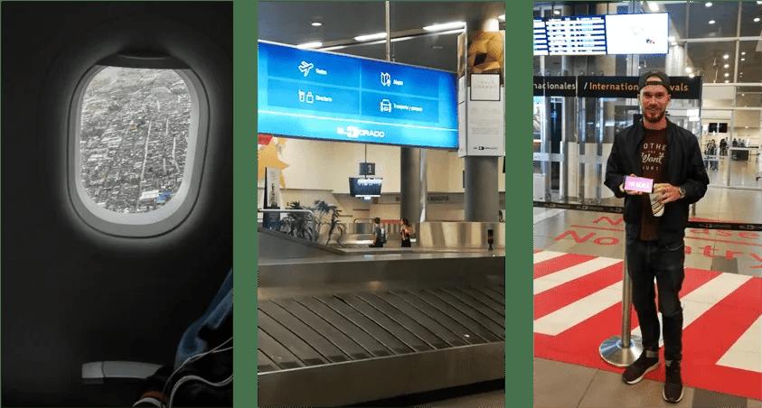 bogota airport arrivals colombia