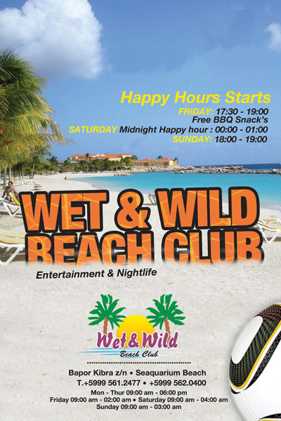 Wet & Wild Happy Hour Curacao