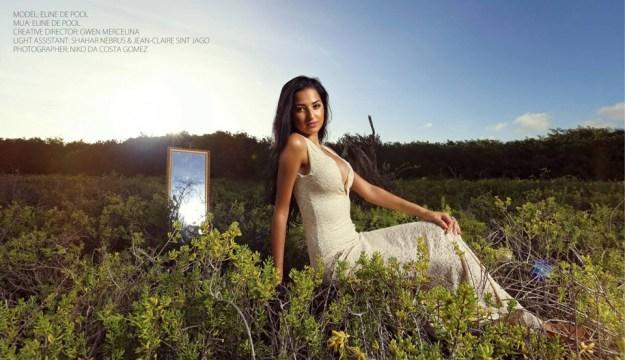 Eline de Pool - Miss Universe Curaçao 2013