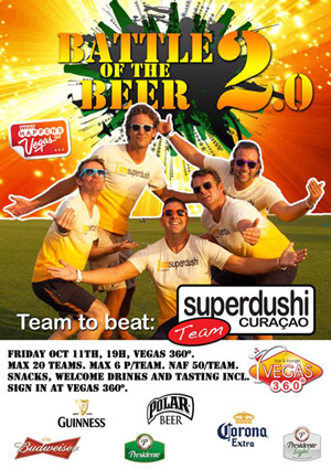 Battle of the Beers at Vegas Curacao