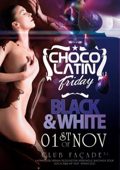 Chocolatin Friday Black & White