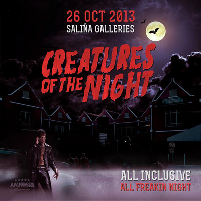 Creatures of the Night Halloween Party