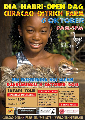Open House at the Ostrich Farm Curacao