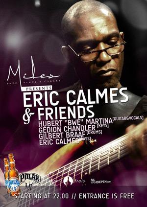 Eric Calmes at Miles Curacao